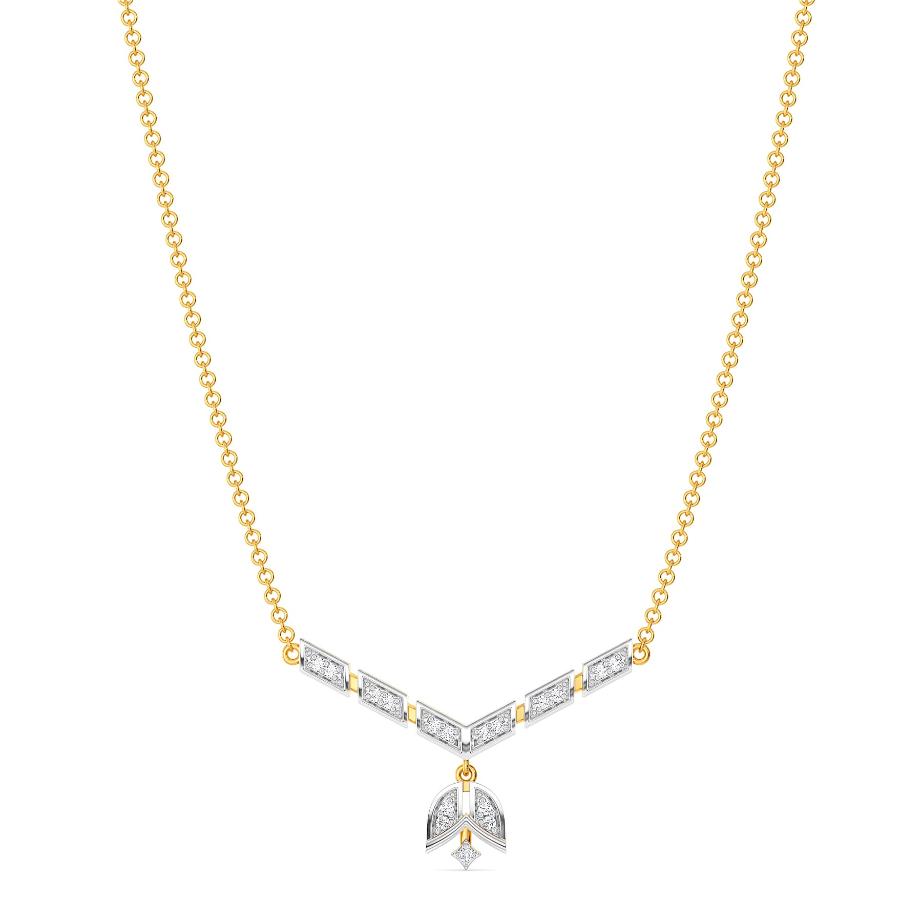 Art Poise Diamond Necklaces