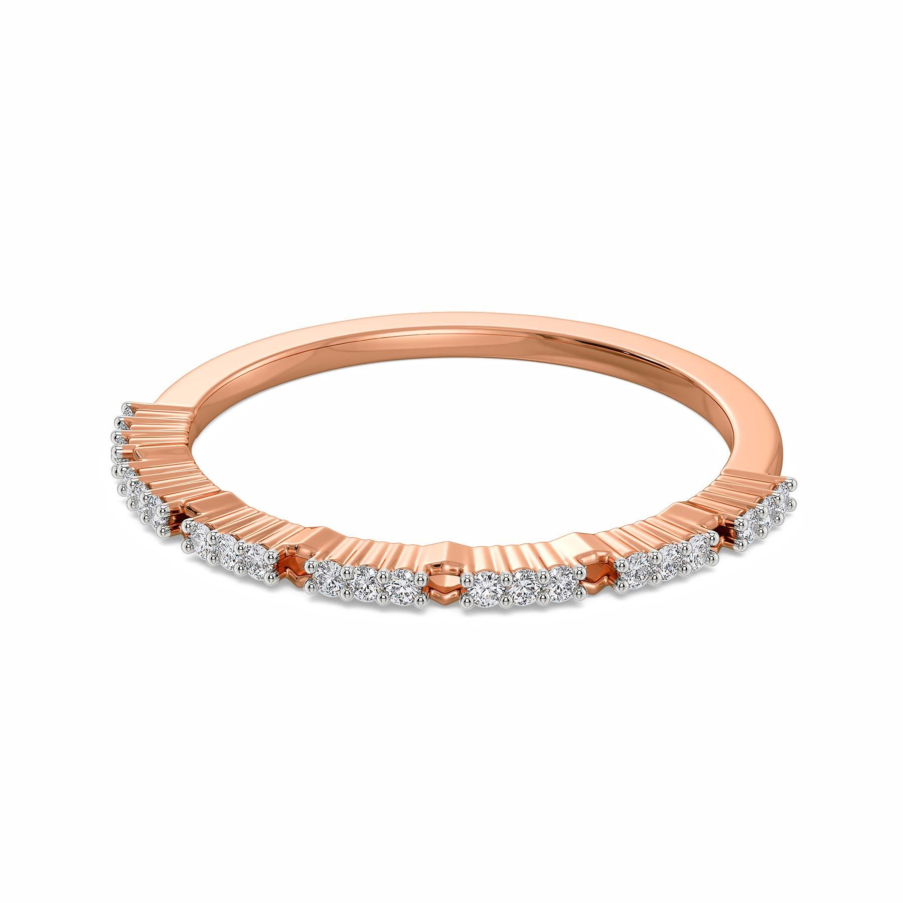 Blush Crush Diamond Rings