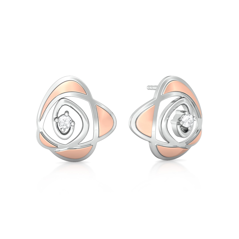 Meadow Buttercup Diamond Earrings