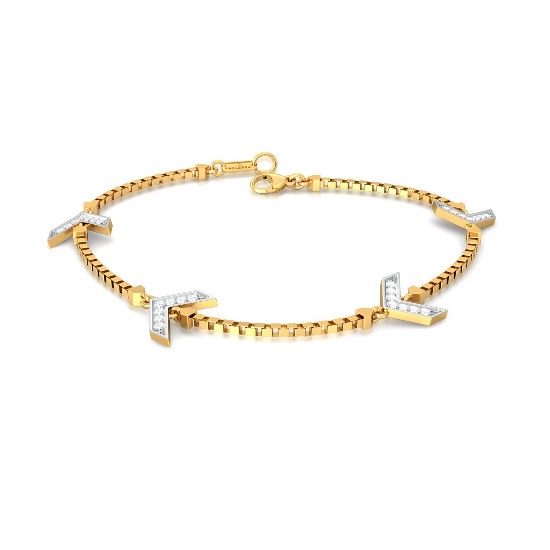 Akimbo Diamond Bracelets