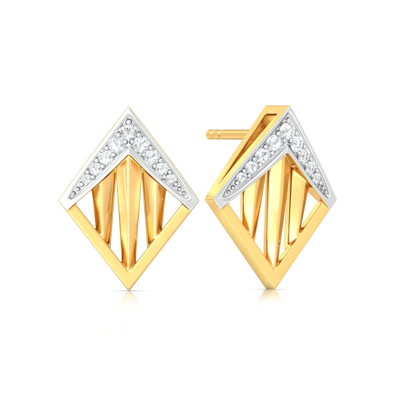 Akimbo Diamond Earrings
