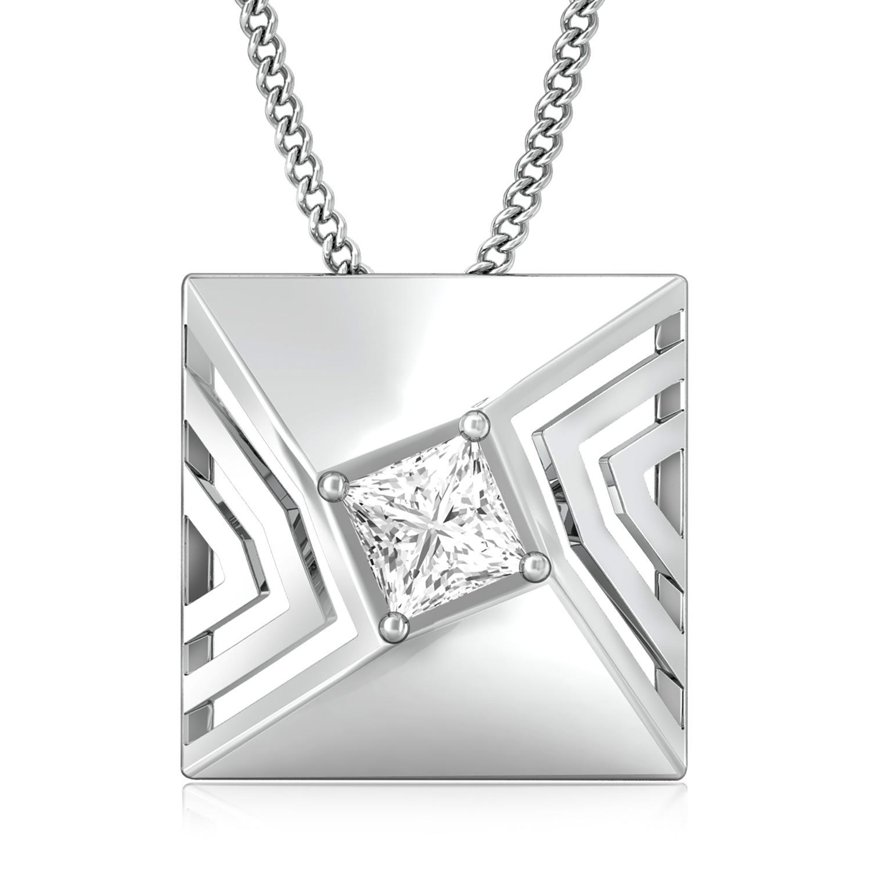 Quad Squad Diamond Pendants