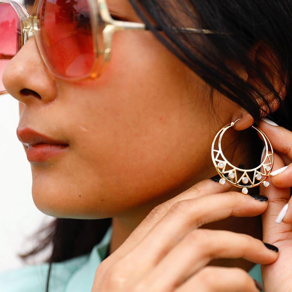 Moonstruck Gemstone Earrings
