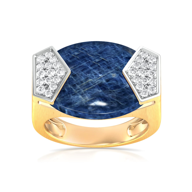 Button Pocket Diamond Rings