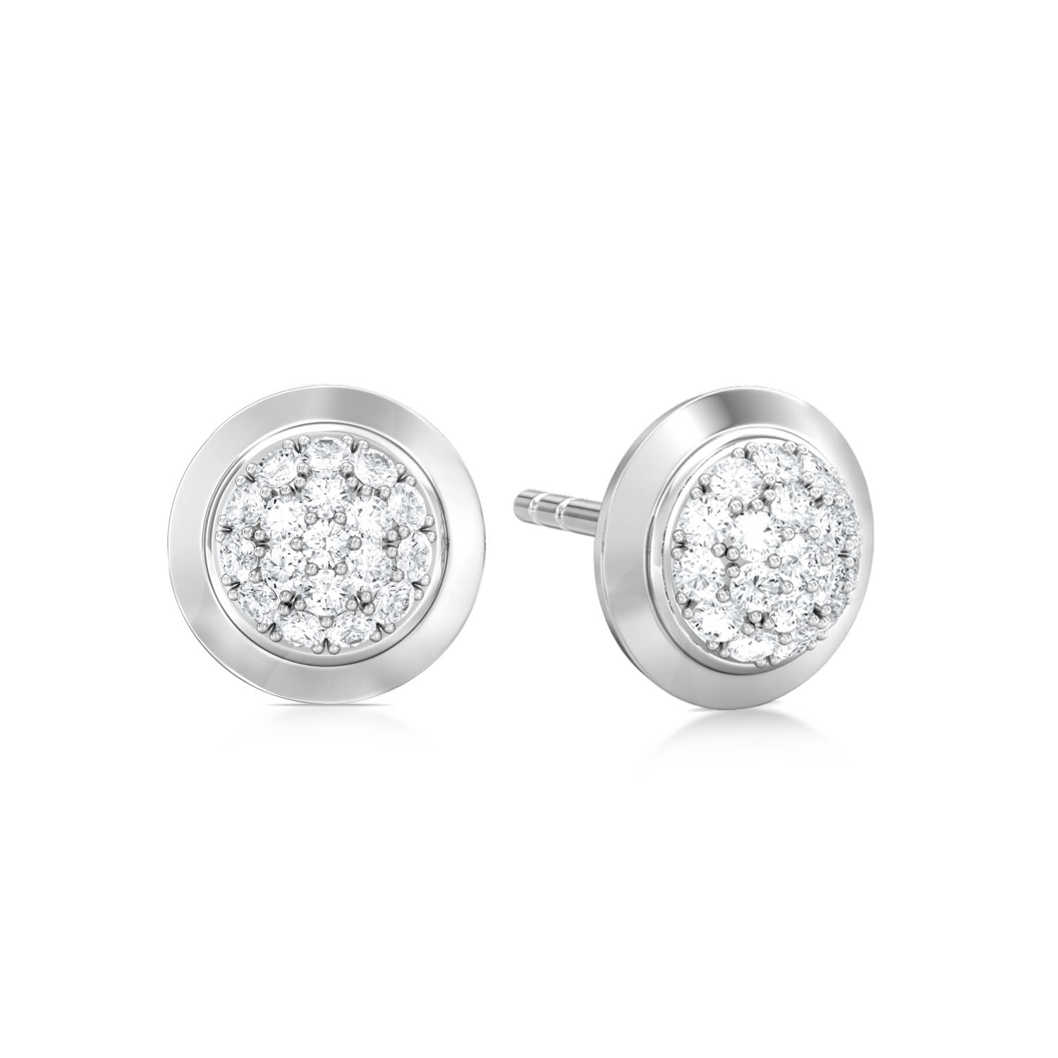 Infinitize  Diamond Earrings