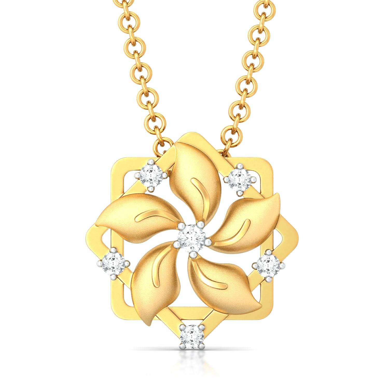 Funky Chakra Diamond Pendants