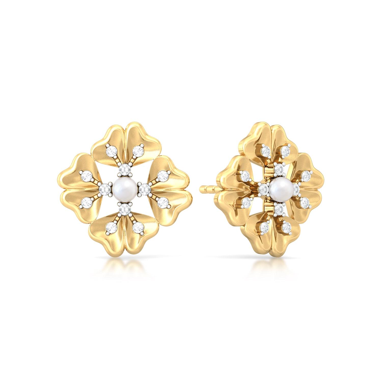 Happie Hippie Diamond Earrings