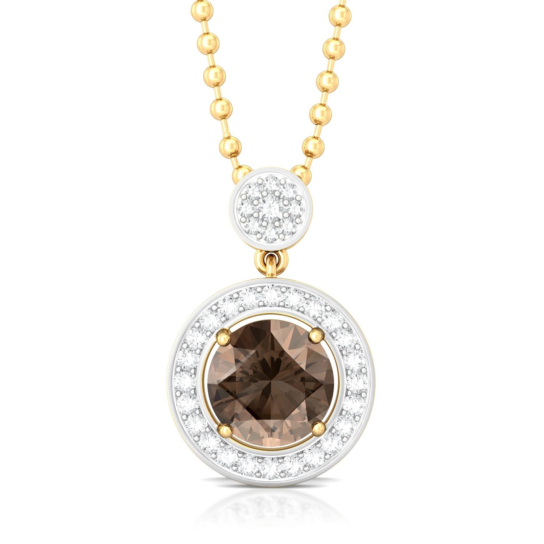 Chocolat Diamond Pendants