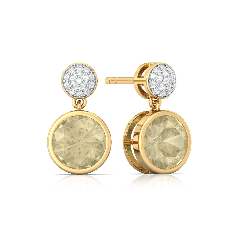 Lemon Drops Diamond Earrings