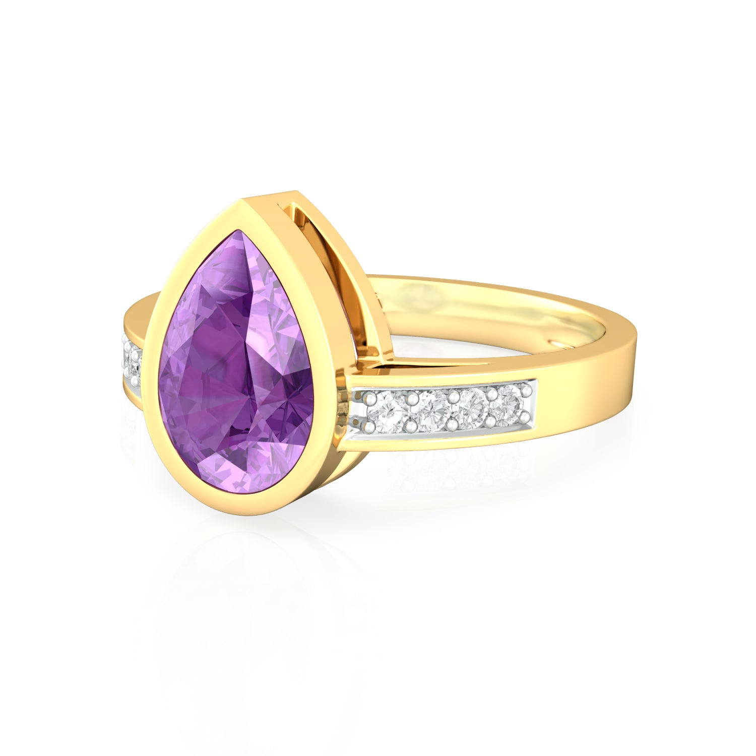 Plum Divine Diamond Rings