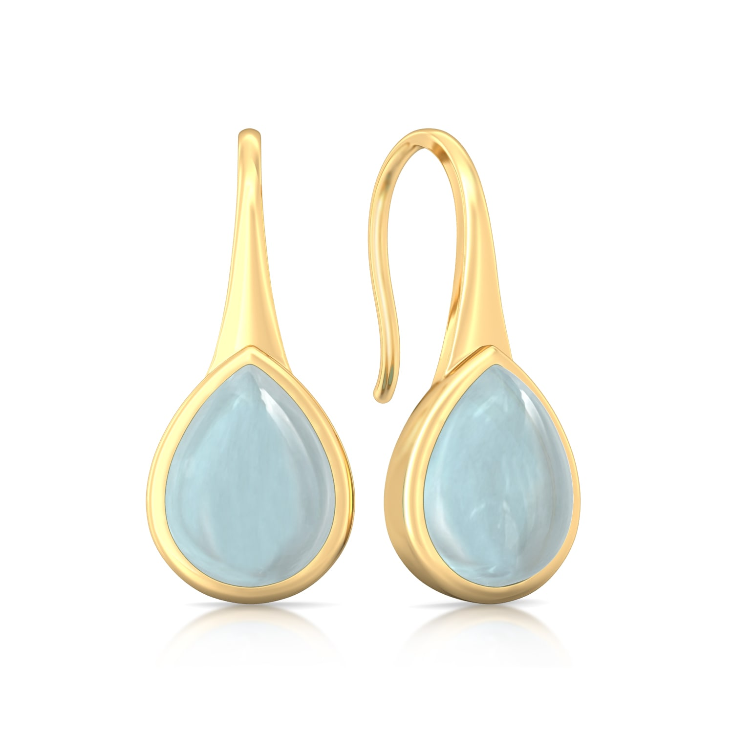Freshwater Blue Gemstone Earrings