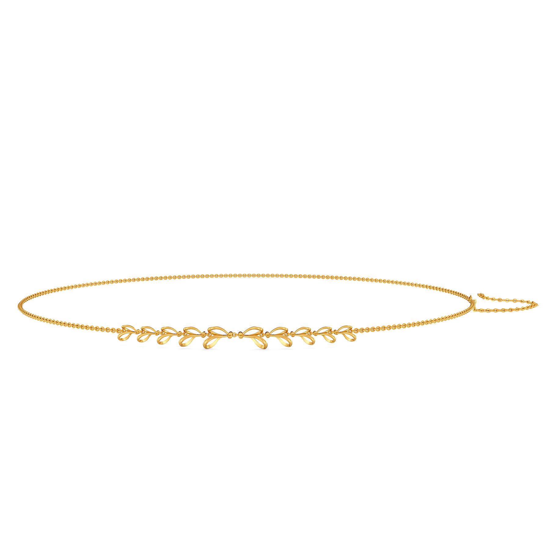 Loop En Twine Gold Waist Chains