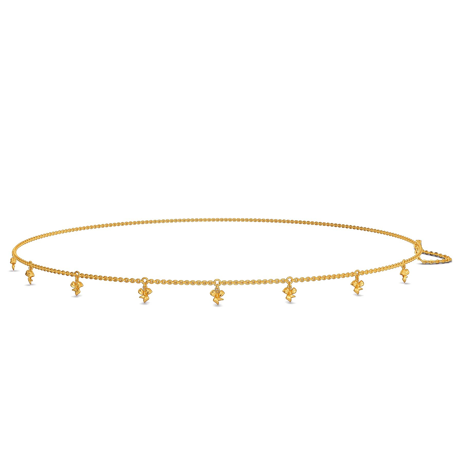 Bow Bistro Gold Waist Chains