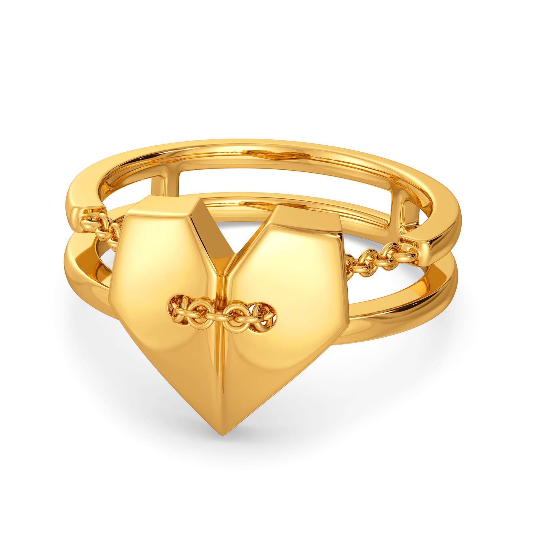 Love-struck Town Gold Rings