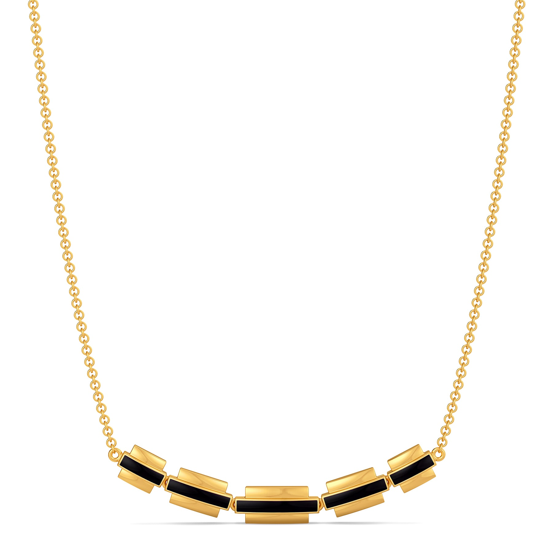 Matrix Fashion Gold Necklaces