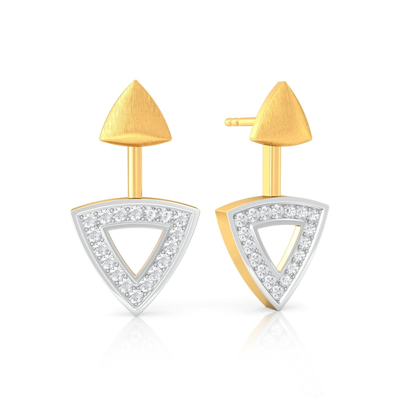 Adjutant General Diamond Earrings