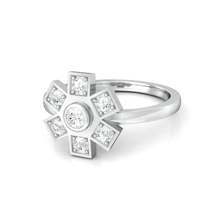 Snowdrops Diamond Rings