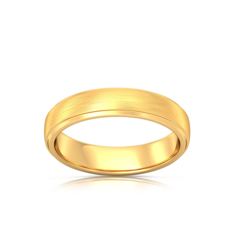 Evergreen sheen Gold Rings