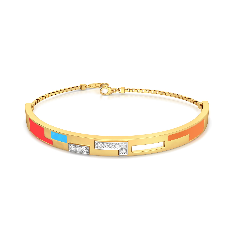 Pixel maze Diamond Bracelets