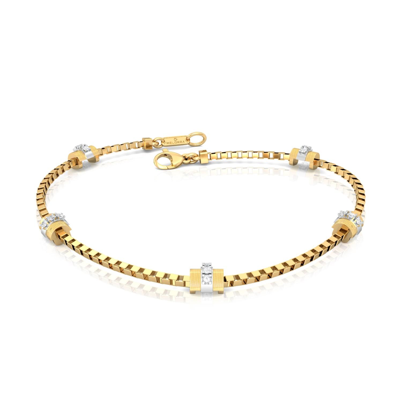Sun Stripes Diamond Bracelets
