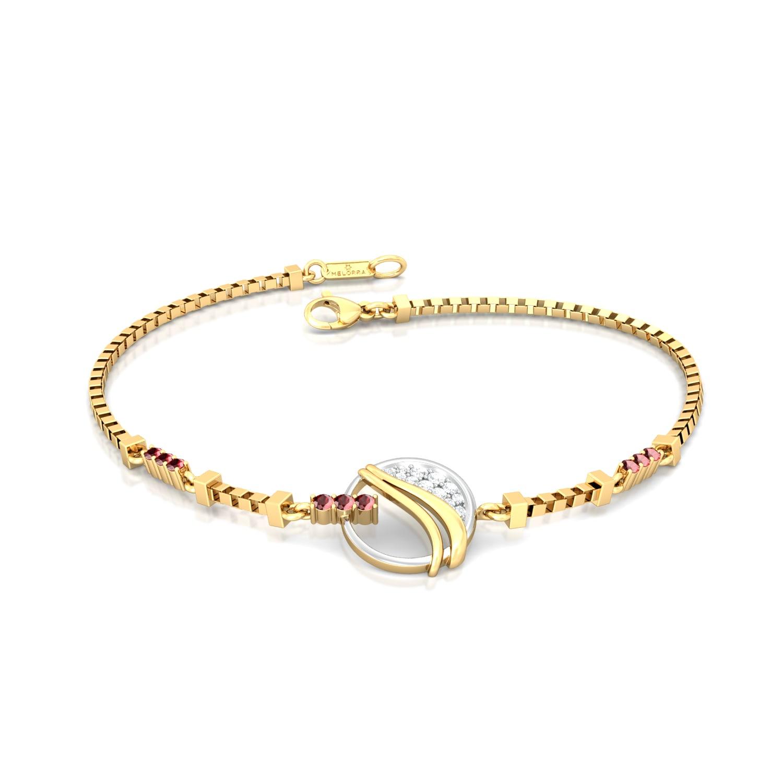 Fire and Ice Diamond Bracelets