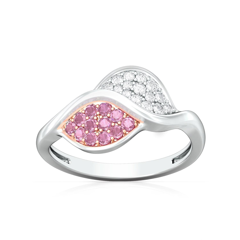 Crimped Rim Diamond Rings