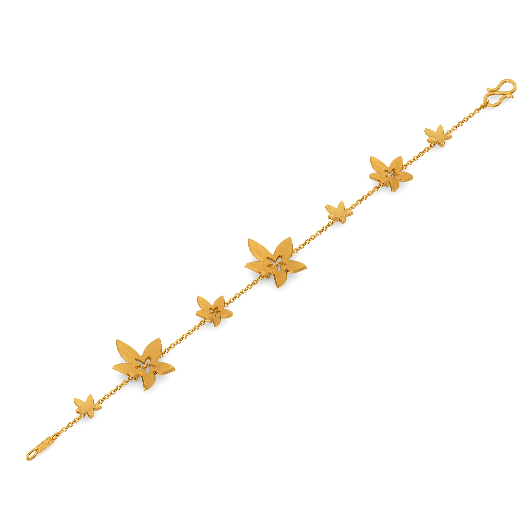 Golden Starflower Gold Bracelets