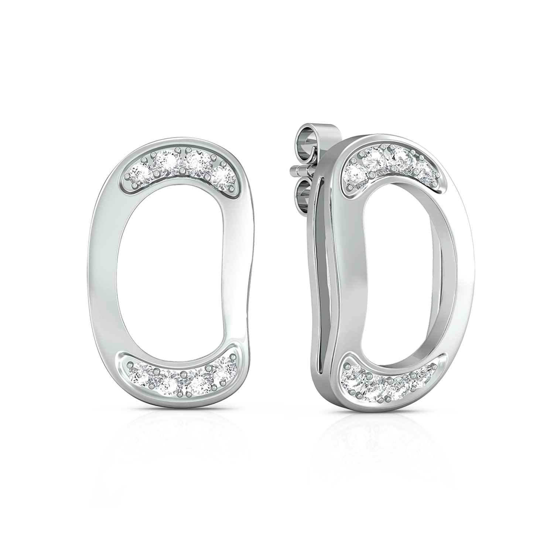 Lean Bean Diamond Earrings