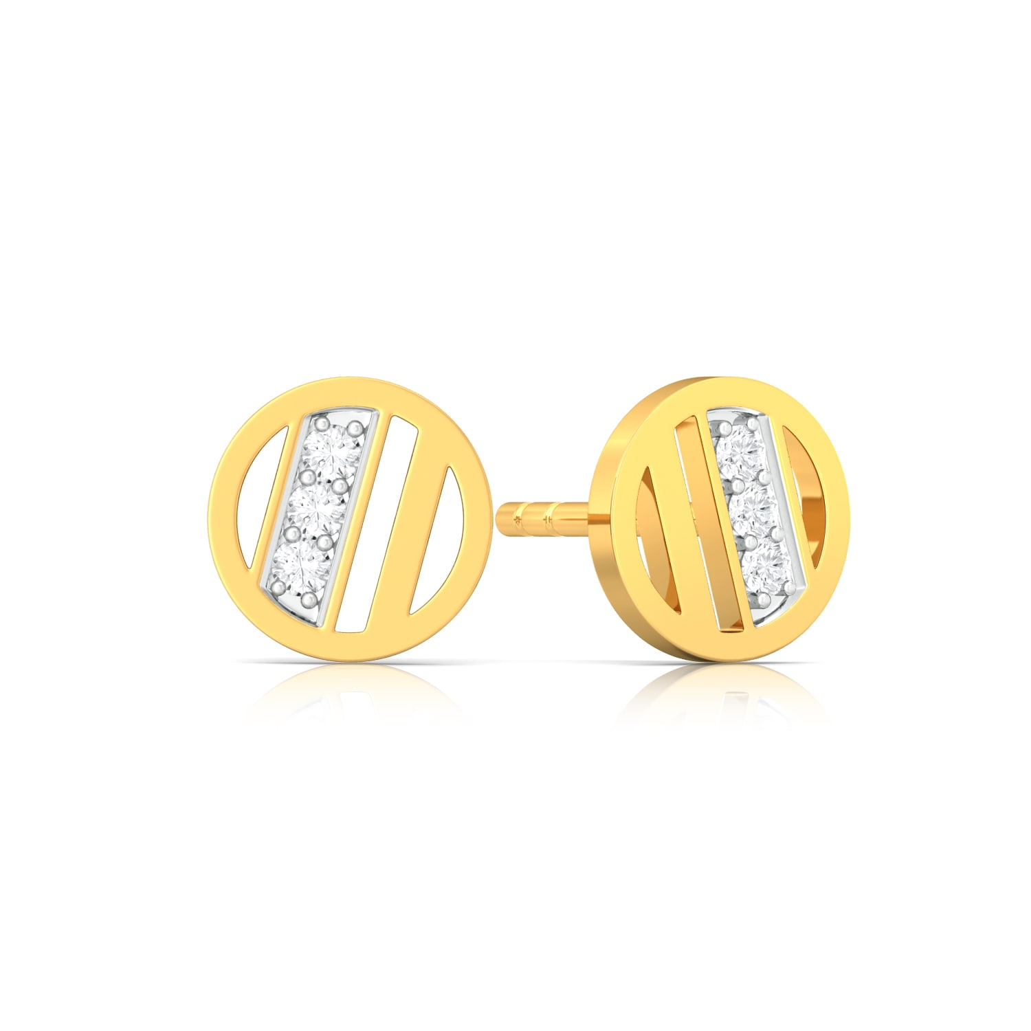 Summer Sun Diamond Earrings