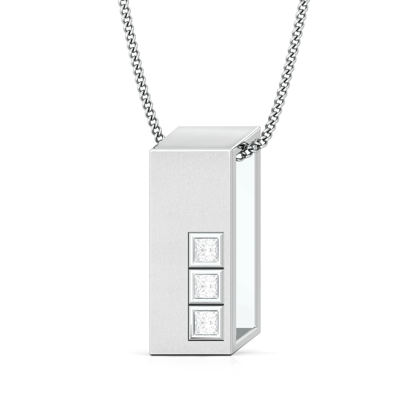 Cubicle command Diamond Pendants