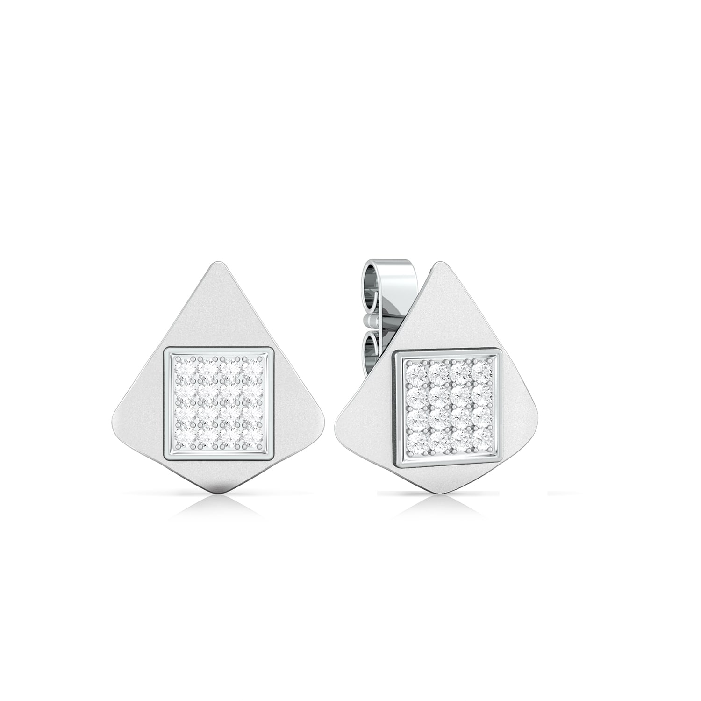 Cursor head Diamond Earrings