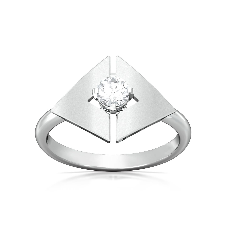 Mirror image Diamond Rings