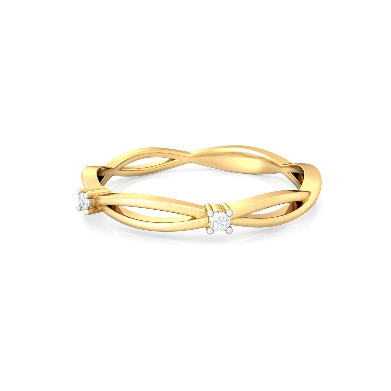 Celtic Charm Diamond Rings