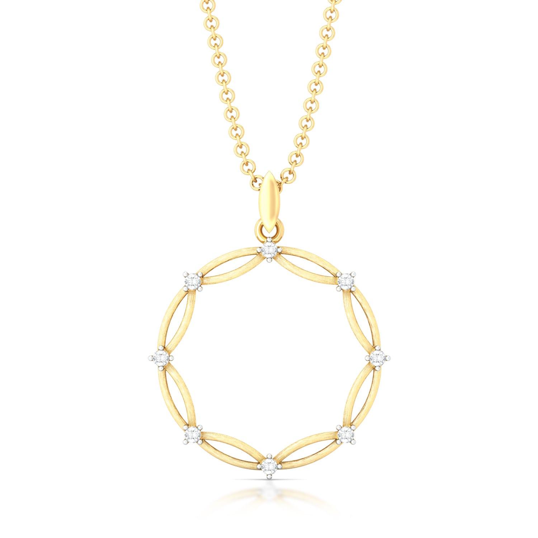 Celtic Charm Diamond Pendants