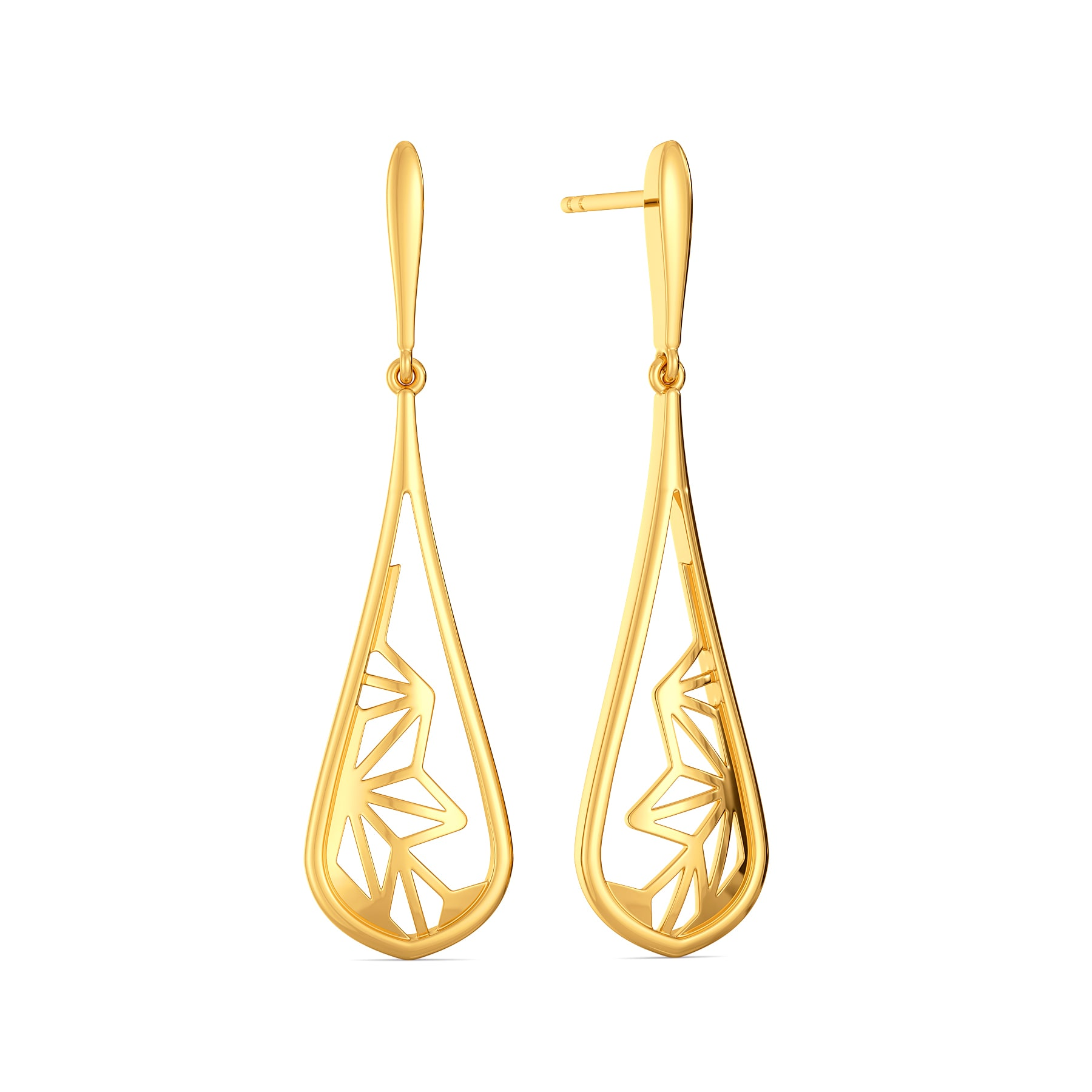 Bare Beauty Gold Earrings