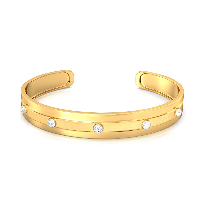 Gold Rush Diamond Bangles