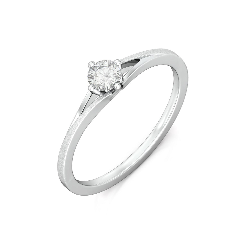 Pristine White Diamond Rings