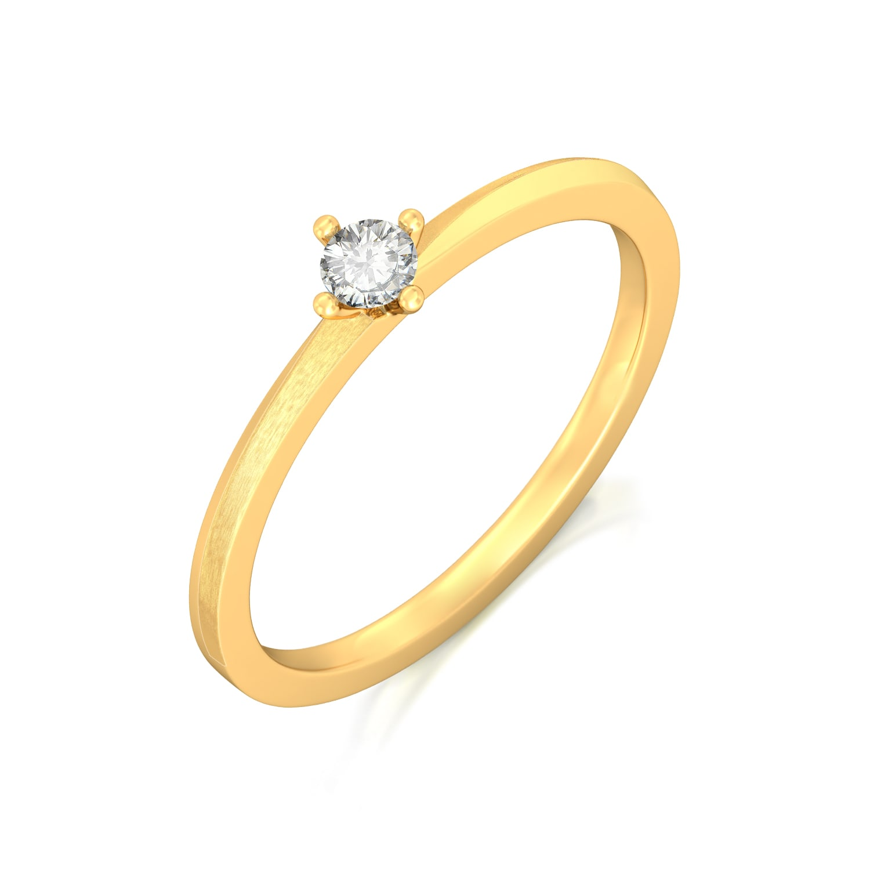 Sparkle Spot Diamond Rings