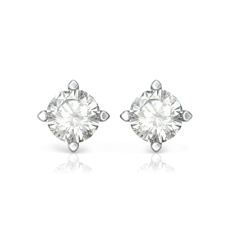 Pure Allure Diamond Earrings