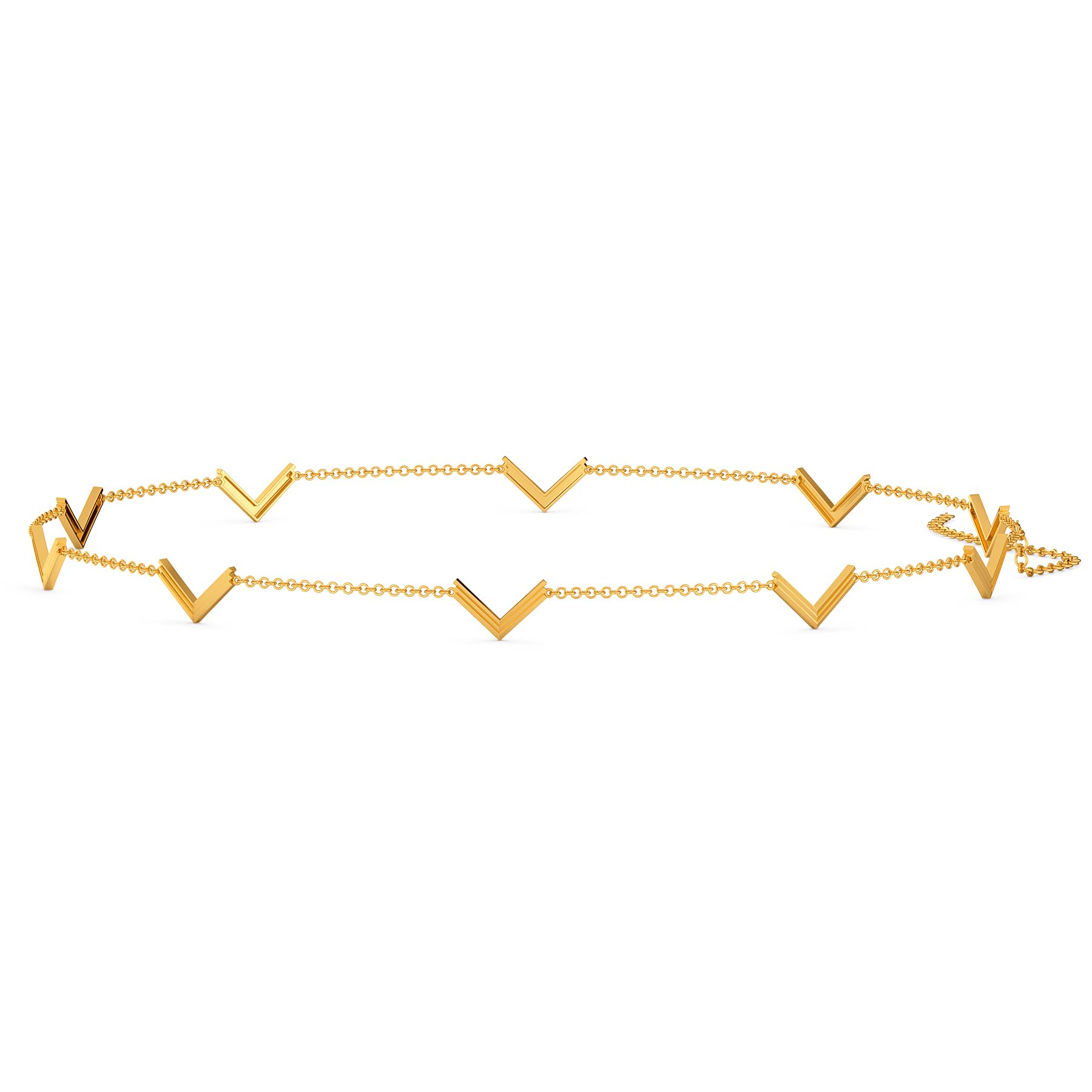 Vows of Glory Gold Waist Chains