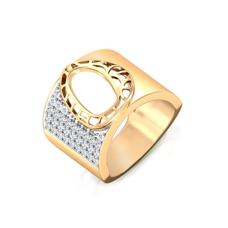 Lace It Up Diamond Rings