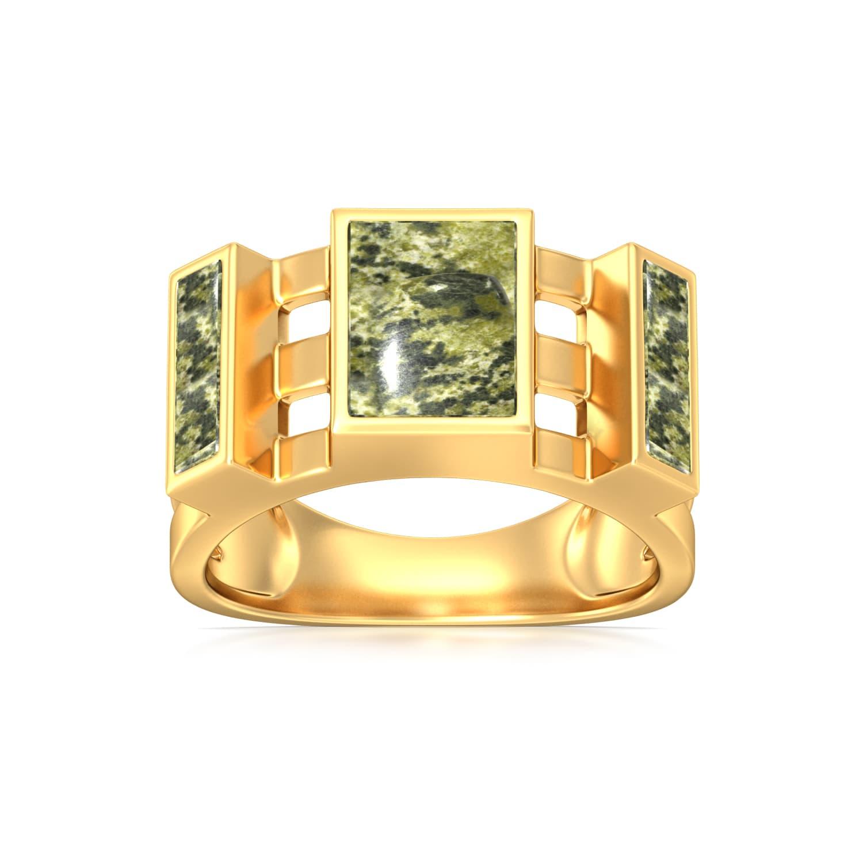 Sergeant Major Gemstone Rings