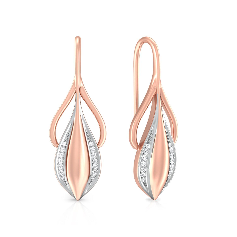 Fresh Bloom Diamond Earrings