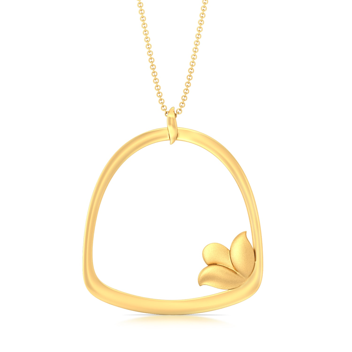 Shy Lily Gold Pendants