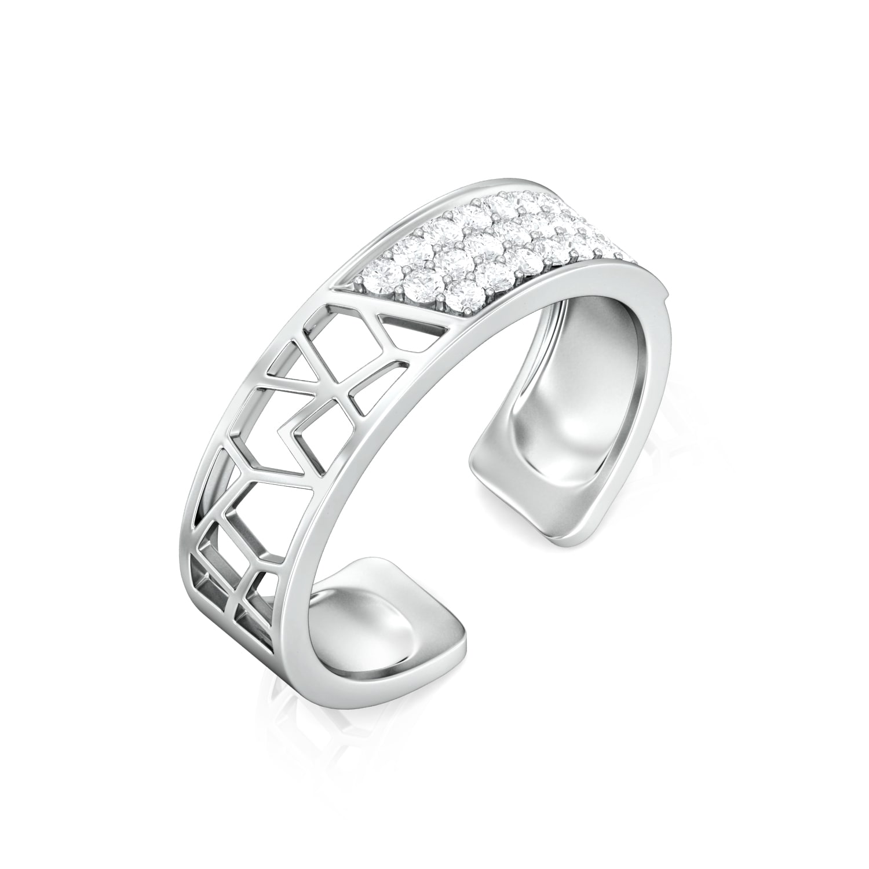 Polygon Mesh Diamond Rings