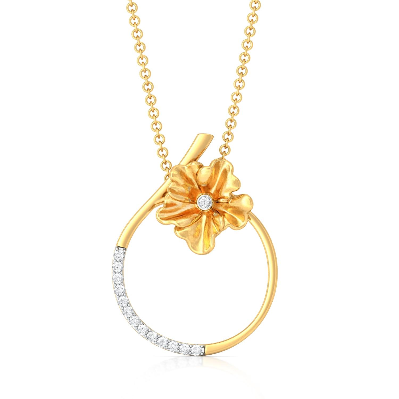 Petite Fleur Diamond Pendants