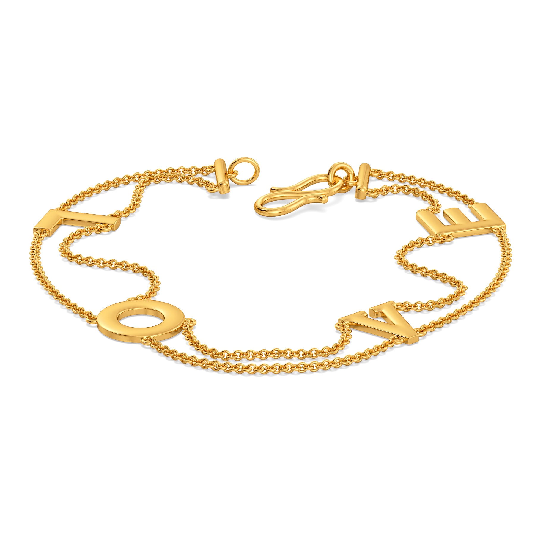 Love Wins Gold Bracelets