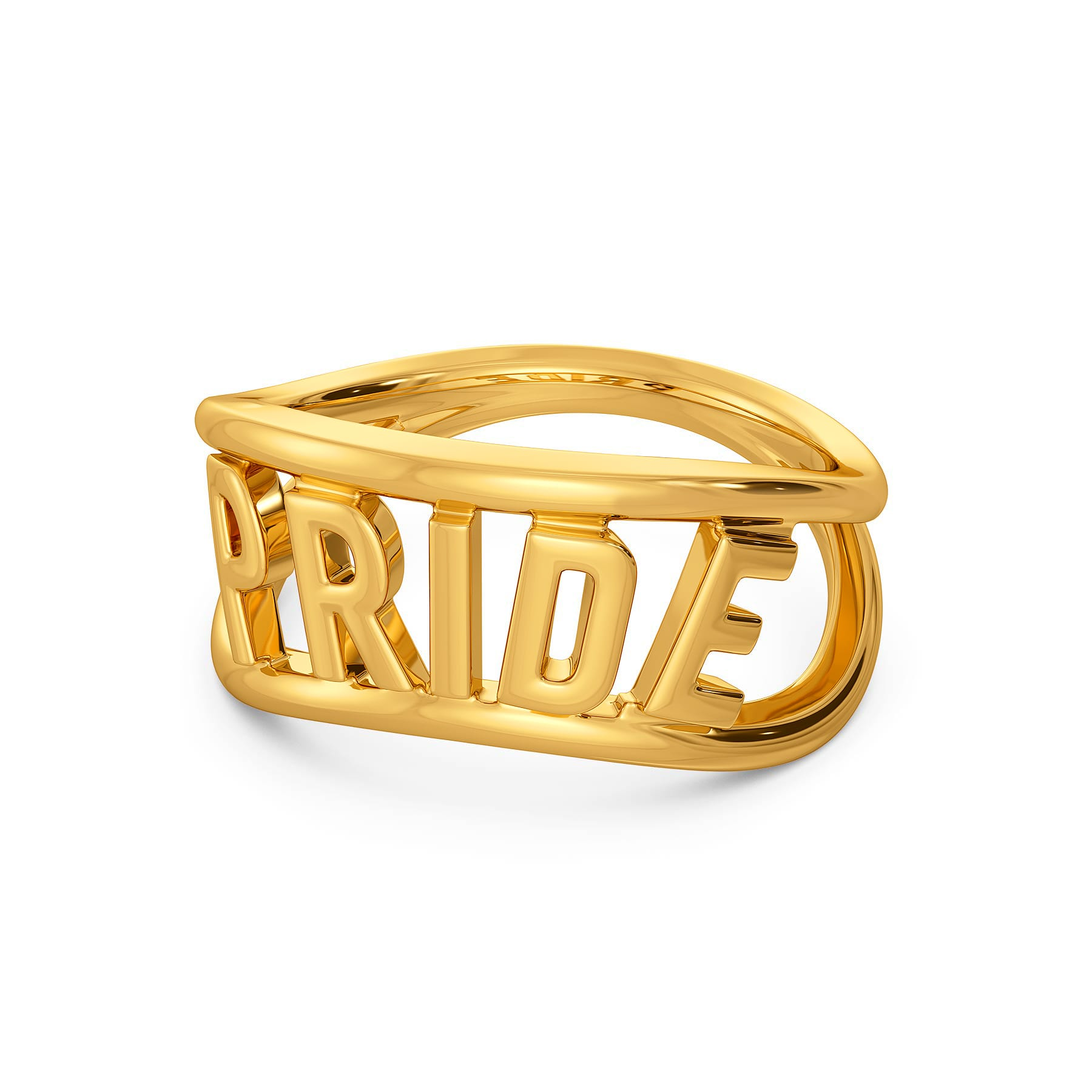 Colours Of Love Gold Rings