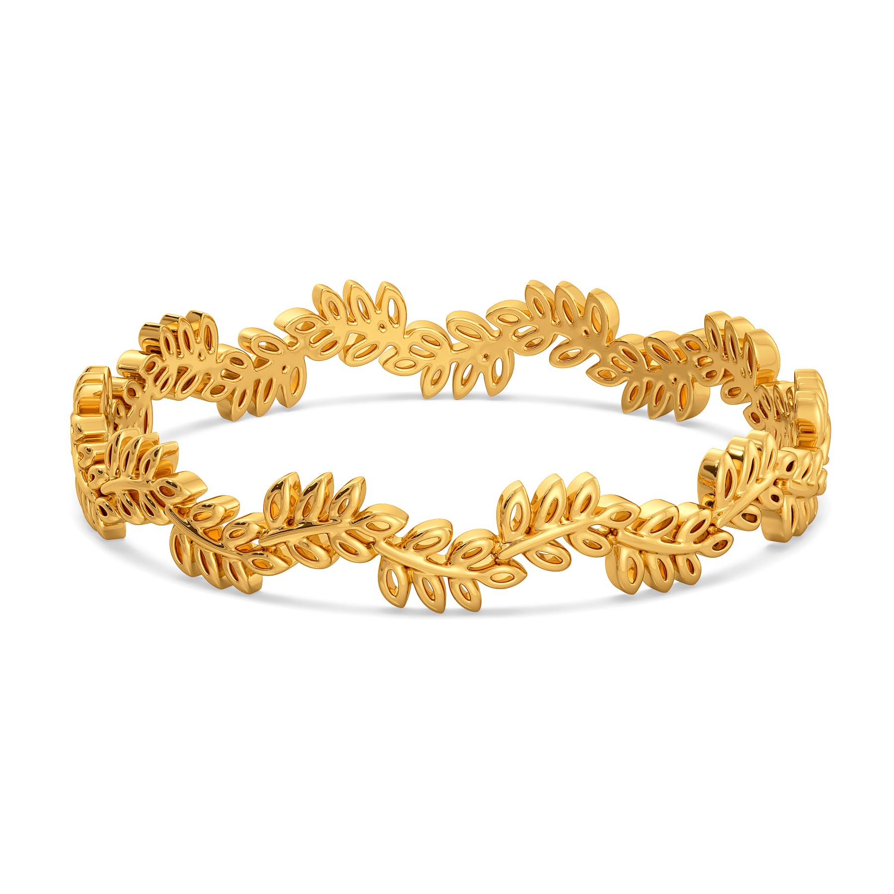 Gaia's Gift Gold Bangles