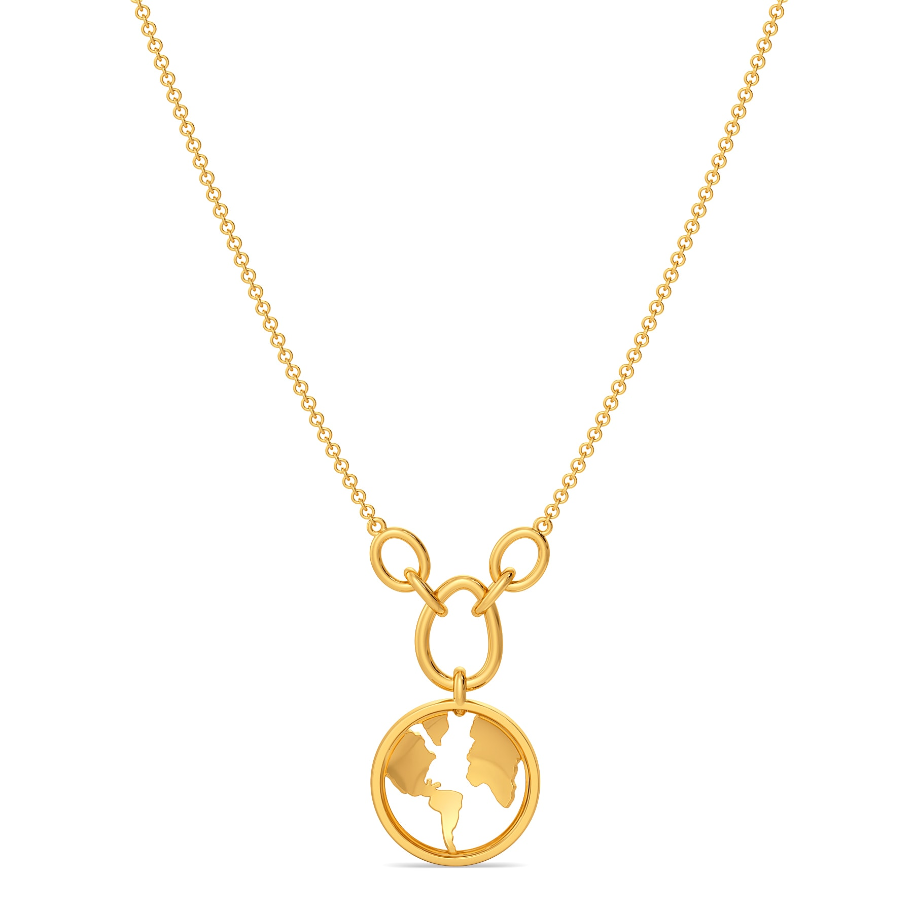 One Earth Gold Necklaces